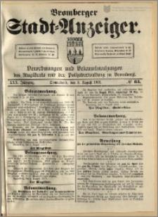 Bromberger Stadt-Anzeiger, J. 30, 1913, nr 63