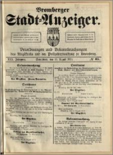 Bromberger Stadt-Anzeiger, J. 30, 1913, nr 65
