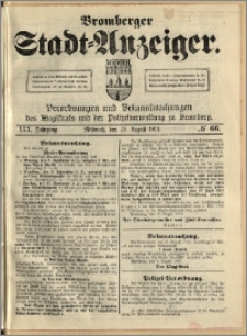 Bromberger Stadt-Anzeiger, J. 30, 1913, nr 66