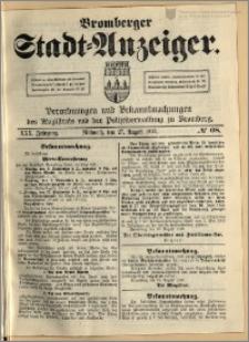 Bromberger Stadt-Anzeiger, J. 30, 1913, nr 68