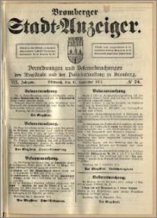 Bromberger Stadt-Anzeiger, J. 30, 1913, nr 74