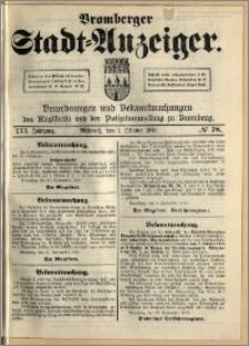 Bromberger Stadt-Anzeiger, J. 30, 1913, nr 78