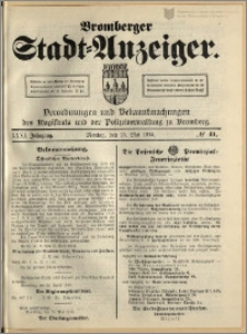 Bromberger Stadt-Anzeiger, J. 31, 1914, nr 41