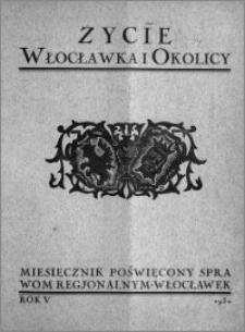 Życie Włocławka i Okolicy 1930, Marzec - Kwiecień, nr 3-4