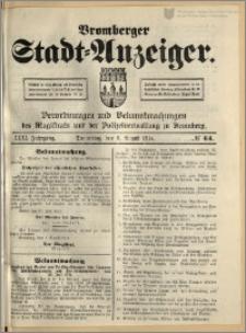 Bromberger Stadt-Anzeiger, J. 31, 1914, nr 64