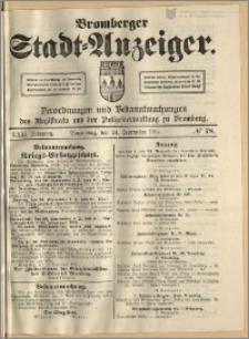 Bromberger Stadt-Anzeiger, J. 31, 1914, nr 78