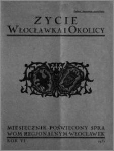 Życie Włocławka i Okolicy 1931, Styczeń, nr 1