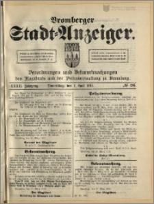 Bromberger Stadt-Anzeiger, J. 32, 1915, nr 26