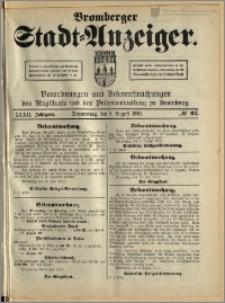 Bromberger Stadt-Anzeiger, J. 32, 1915, nr 62