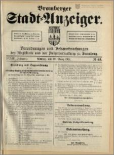 Bromberger Stadt-Anzeiger, J. 33, 1916, nr 23