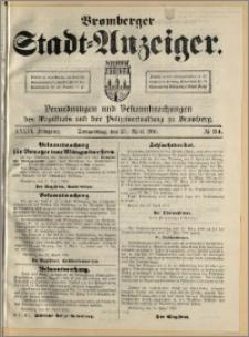 Bromberger Stadt-Anzeiger, J. 33, 1916, nr 34