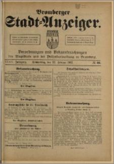 Bromberger Stadt-Anzeiger, J. 34, 1917, nr 16