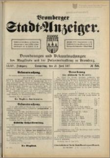 Bromberger Stadt-Anzeiger, J. 34, 1917, nr 50