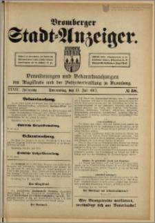 Bromberger Stadt-Anzeiger, J. 34, 1917, nr 58