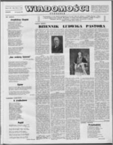 Wiadomości, R. 8 nr 3 (355), 1953