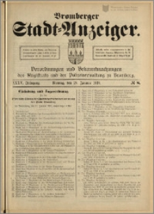 Bromberger Stadt-Anzeiger, J. 35, 1918, nr 8
