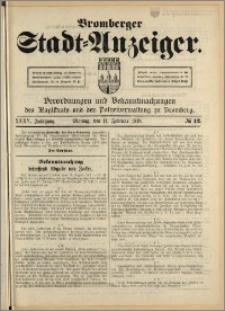 Bromberger Stadt-Anzeiger, J. 35, 1918, nr 12