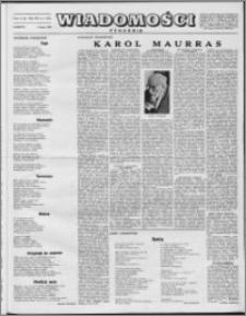 Wiadomości, R. 8 nr 5 (357), 1953
