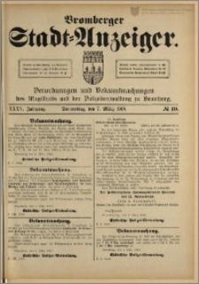 Bromberger Stadt-Anzeiger, J. 35, 1918, nr 19