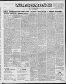 Wiadomości, R. 8 nr 7 (359), 1953