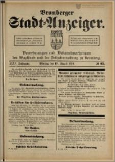 Bromberger Stadt-Anzeiger, J. 35, 1918, nr 65
