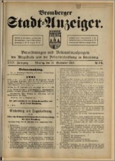 Bromberger Stadt-Anzeiger, J. 35, 1918, nr 75