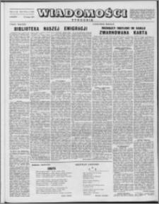 Wiadomości, R. 8 nr 8 (360), 1953
