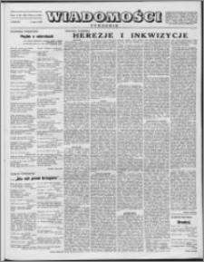 Wiadomości, R. 8 nr 9 (361), 1953