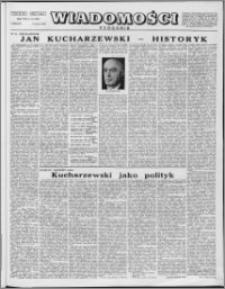 Wiadomości, R. 8 nr 10 (362), 1953