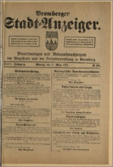 Bromberger Stadt-Anzeiger, J. 36, 1919, nr 18