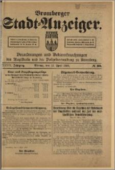 Bromberger Stadt-Anzeiger, J. 36, 1919, nr 30