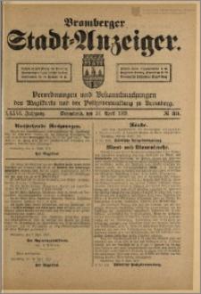 Bromberger Stadt-Anzeiger, J. 36, 1919, nr 33