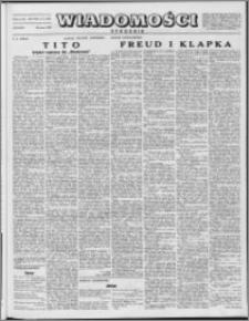 Wiadomości, R. 8 nr 13 (365), 1953