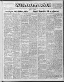 Wiadomości, R. 8 nr 17 (369), 1953