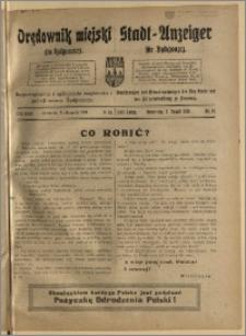 Bromberger Stadt-Anzeiger, J. 37, 1920, nr 58