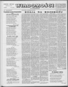 Wiadomości, R. 8 nr 19 (371), 1953
