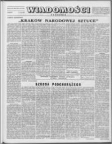 Wiadomości, R. 8 nr 20 (372), 1953