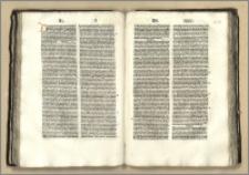 Sententiarum libri IV, cum commento Bonaventure : P.II.- Tabula Ioannis Beckenhaub