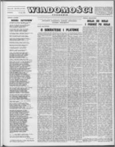 Wiadomości, R. 8 nr 22 (374), 1953