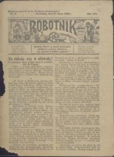 Robotnik : bezpłatny dodatek do Gazety Grudziądzkiej poświęcony sprawom robotniczym oraz sprawom inwalidów wojennych 1926.03.18 nr 6