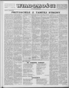Wiadomości, R. 8 nr 23 (375), 1953