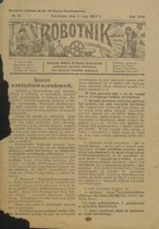 Robotnik : bezpłatny dodatek do Gazety Grudziądzkiej poświęcony sprawom robotniczym oraz sprawom inwalidów wojennych 1927.05.05 nr 6