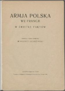 Armia polska we Francji w świetle faktów