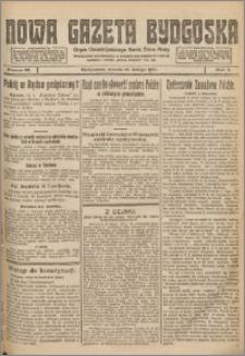 Nowa Gazeta Bydgoska. Organ Chrzescijańskiego Narodowego Stronnictwa Pracy 1921.02.12 R.1 nr 35