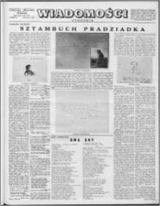 Wiadomości, R. 8 nr 26 (378), 1953