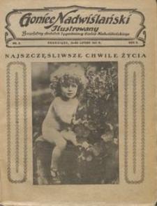 Goniec Nadwiślański Ilustrowany : bezpłatny dodatek tygodniowy Gońca Ndwiślańskiego 1931.02.22 R.5 nr 8