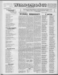 Wiadomości, R. 8 nr 28 (380), 1953