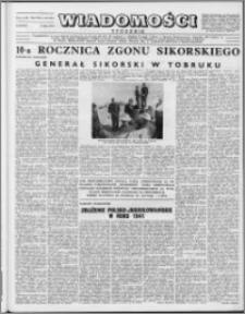 Wiadomości, R. 8 nr 29 (381), 1953