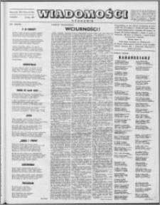Wiadomości, R. 8 nr 30 (382), 1953