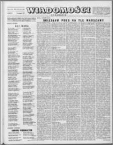 Wiadomości, R. 8 nr 33 (385), 1953